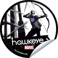 Roxy Terra's Hawkeye SDCC 2012 Sticker | GetGlue