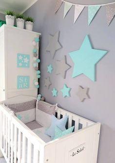 Nursery Room Decor, Nursery Furniture, Nursery Design, Baby Bedroom, Kids Bedroom, Baby Dresser Organization, House Beds For Kids, Baby Room Colors, Girl Room