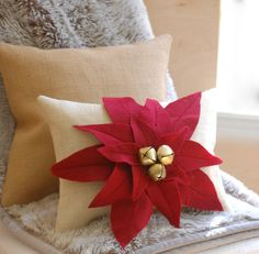 Hey, I found this really awesome Etsy listing at https://www.etsy.com/listing/168828977/natural-burlap-christmas-pillow