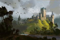 ArtStation - Castle_02, Daniel Correia