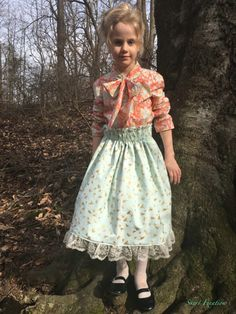 Lavinia pattern (by Violette Field Threads) sewn by Skirt Fixation using fabric from Raspberry Creek Fabrics Girl Skirts, Modest Skirts, Dress Skirt, Raspberry, Flower Girl Dresses, Fabrics, Sewing, Wedding Dresses, Pattern