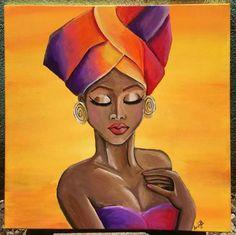 Lola Horse Art, African Paintings, Beautiful Oil Paintings, Drawings, Alone Art, Female Art, Black Girl Art, Art, Popular Paintings
