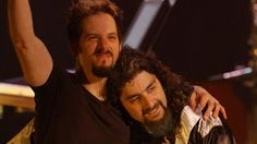 John Petrucci with Mike Portnoy / Live in Budokan. two greatest talented men in the world John Petrucci, Dream Theater, Guys, Concert, Men, Google Search, Live, Musica, Concerts