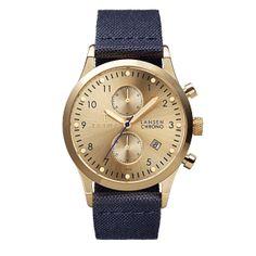 Spring/Summer 2014 - TRIWA - Watches - Gold Lansen Chrono