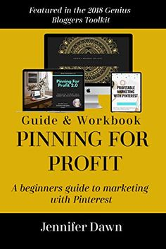 Amazon.com: Pinning For Profit - A Beginner's Guide To Pinterest Marketing: How To Get Your Products & Services In Front Of The Very People Who Are Actively Looking For Them! (Online Marketing) eBook: Dawn, Jennifer: Kindle Store Social Media Marketing Books, Online Marketing, Pinterest Marketing, You Got This, How To Get, Dawn, Kindle, Amazon, Store