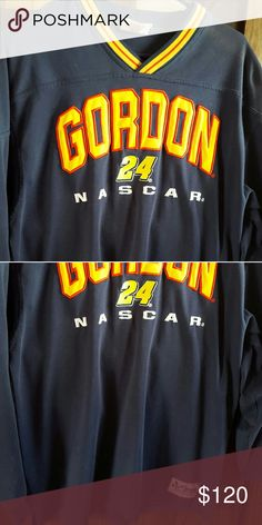 Chase authentic Jeff Gordon Jersey trackside buy Trackside bought in Bristol Authentic Chase- Jeff Gordon Jersey Men's size Large. Good condition.   Open to reasonable offers, bundle and save! Nascar Shirts Tees - Long Sleeve