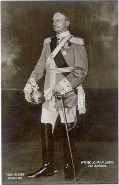 Prince Johann of Saxony