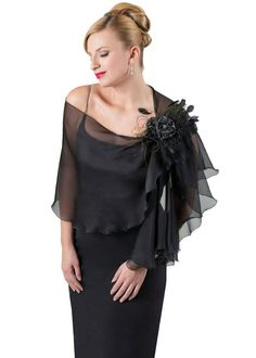 Shawls And Wraps For Evening Dresses price promotional 100 silk chiffon black evening wrap evening gown 570 X 1011 pixels Evening Dresses, Formal Dresses, Bride Dresses, Formal Wear, Silk Chiffon, Chiffon Shawl, Shawls And Wraps, Scarf Styles, Plus Size Dresses
