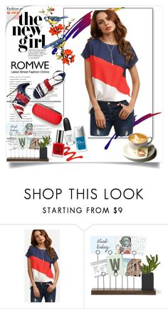 """""""romwe"""" by perfex ❤ liked on Polyvore featuring Sergio Rossi"""