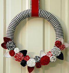 3b702b3a5 Alabama Crimson Tide Wreath. Alabama College FootballUniversity ...