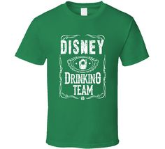 Disney Irish Drinking Team Whiskey Beer Custom Name St Patricks Day T Shirt