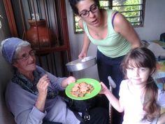 Marina, Allariz e Ivana.