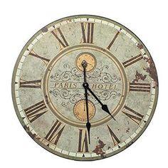 Belle Maison tamaño grande parisino verde y oro reloj de ... https://www.amazon.es/dp/B00WK9JCQ2/ref=cm_sw_r_pi_dp_x_r8pIybR3C5E9Z
