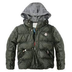 Cheap Moncler Milano Mens Down Jackets Dark Green Top Seller - $211.65  Moncler Jackets For Men  by www.monclerlines.com/men-moncler-jacket-c-1.html