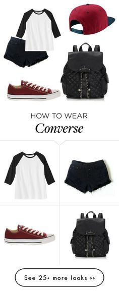 """""""Gnite babes"""" by dyasiarocks2000 on Polyvore featuring NIKE, Converse and Lipsy"""