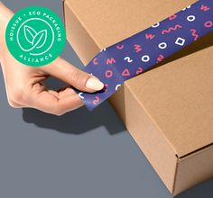 Make your packaging that much more sustainable in 2019 with options like recycled packaging, compostable mailers and eco-friendly tissue paper. Create a plastic-free packaging experience. Custom Packaging, Print Packaging, Packaging Design, Printing On Tissue Paper, Custom Tissue Paper, Paper Logo, Sticker Paper, Stamp Creator, Pantone Book