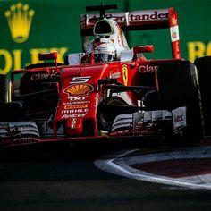 #Repost @scuderiaferrari  Consistency. #EuropeGp #Seb5 #ScuderiaFerrari #RedSeason #F1 #Ferrari #PrancingHorse #SF16H