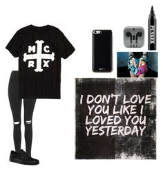 """""""Untitled #43"""" by rebeccamadison1014 ❤ liked on Polyvore featuring Topshop, Vans, Ardency Inn and Gooey"""