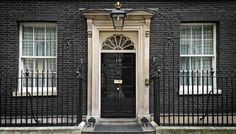 10 Downing Street. The Prime Minister's house.