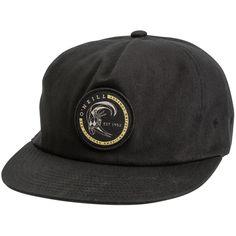 965a8ef8 O'Neill Slab hat. Men's 5-panel snapback hat. Casual unstructured design