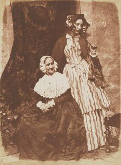 1843-1848 - Anne Rigby (née Palgrave); Elizabeth, Lady Eastlake (née Rigby) by David Octavius Hill, and Robert Adamson