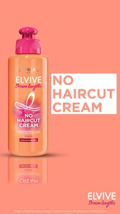 L'Oreal Hair Leave In Conditioner Cream by Elvive Dream Lengths No Haircut Cream for Long, Damaged Hair Keratin 200 ml Male Grooming, Leave In Conditioner, Beautiful Long Hair, Damaged Hair, Keratin, Loreal, Hair Goals, Hair Care, Fragrance