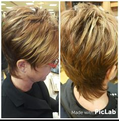 Short  Shag haircut, pixie, short hair, blonde, ombre, reversed balayage