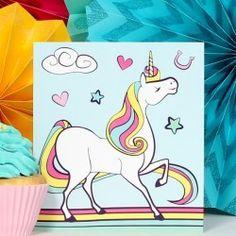 Unicorn Centerpiece Rainbow Centerpiece, Unicorn Centerpiece, Centerpieces, Satin Gloss, Unicorn Party Supplies, Fireplace Mantle, Give It To Me, Joy, Disney Characters