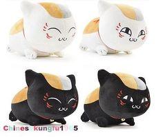 13'' Natsume Yuujinchou Nyanko Sensei  Stuffed Plush Kitty Doll Figure Cushion
