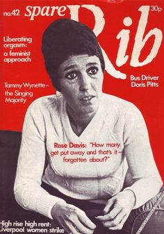 HuffPost UK Lifestyle are excited to announce the relaunch of radical feminist magazine Spare Rib.According to Media Guardian, the magazine, which folded 20 years ago in could be relaunched as e. What Is Feminism, Raven Pictures, Second Wave Feminism, Feminist Men, Tammy Wynette, Spare Ribs, Journal Design, Bus Driver, S Mo