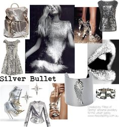 """Silver Bullet"" by nikkisg on Polyvore"