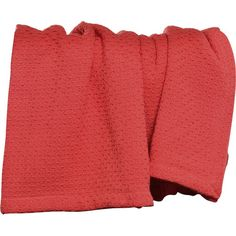 Coastal Throw Blanket in Coral