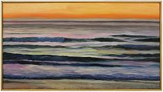 """Golden Sunset"" by John Bucklin, $2,100, 20"" x 36"", available at Serena & Lily. #serenaandlily"