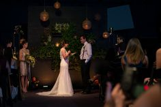 The Big Fake Wedding, Orlando Wedding DJ, Orlando Wedding Vendors, Orlando Science Center, Amber Uplighting