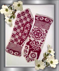 Knitting charts mittens ravelry new ideas Crochet Mittens Pattern, Crochet Gloves, Sweater Knitting Patterns, Knit Mittens, Knitting Charts, Lace Knitting, Knitting Socks, Knitted Hats, Crochet Patterns