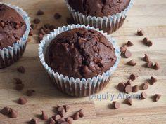 ¡Aquí y Ahora!: Muffins de chocolate