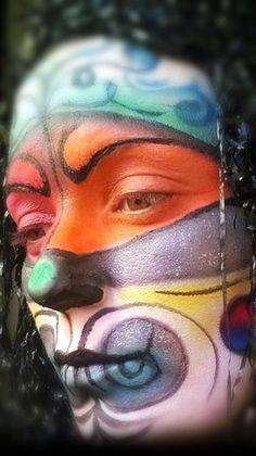 #makeup #maquillaje #artístico #payaso