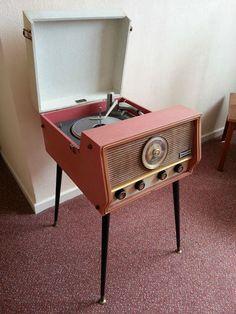 Vintage Valve Dansette RG31 Record Player / Radiogram