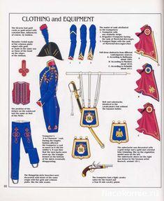 1° Rgt. Trombettiere armamento equipaggiamento vestiario