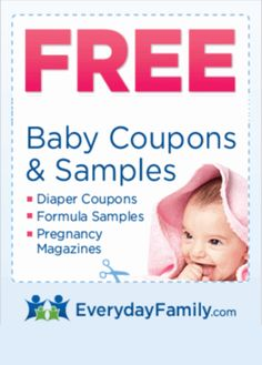 Free Baby Stuff  - Samples, Coupons, Magazines and More!