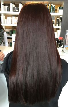 Deep Red Brown Hair Salon StudioBe Paul Mitchell