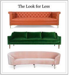 Moderately priced sofa favorites