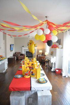 Pokemon Birthday Party Ideas | Photo 1 of 21