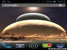 Space Mars: Star  Android App - playslack.com , Space Mars: Star - impressive live wallpapers with space filth and strange stars. You will see a planet rising on the horizont and standing in a formation with other star system giants.