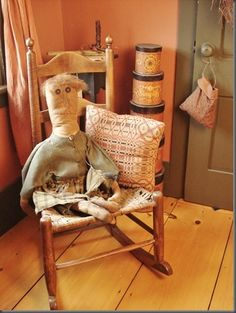 Ohhh My Goodness I Just LOVE This Primitive Doll...
