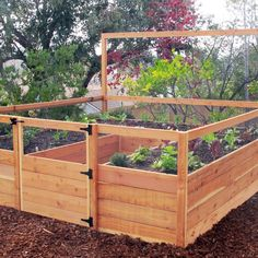 removable fencing for your raised beds to keep your seedling safe
