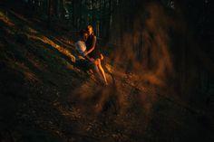 Marta & Kamil    Poland #photography #sunbeams #goldensun #sunset