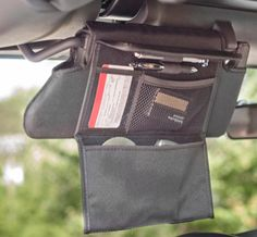Sun Visor Organizer Set - a place for everything