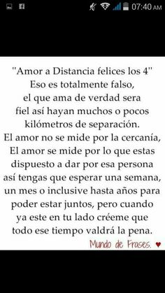 #Distancia #AmorDeLejos #Valientes