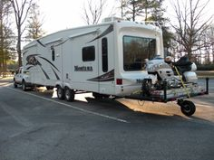 RV.Net Open Roads Forum: Towing: Towing trailer behind 5th wheel